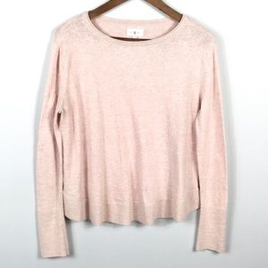 Lou & Grey Womens Crew Neck Pullover Sweater Sz S